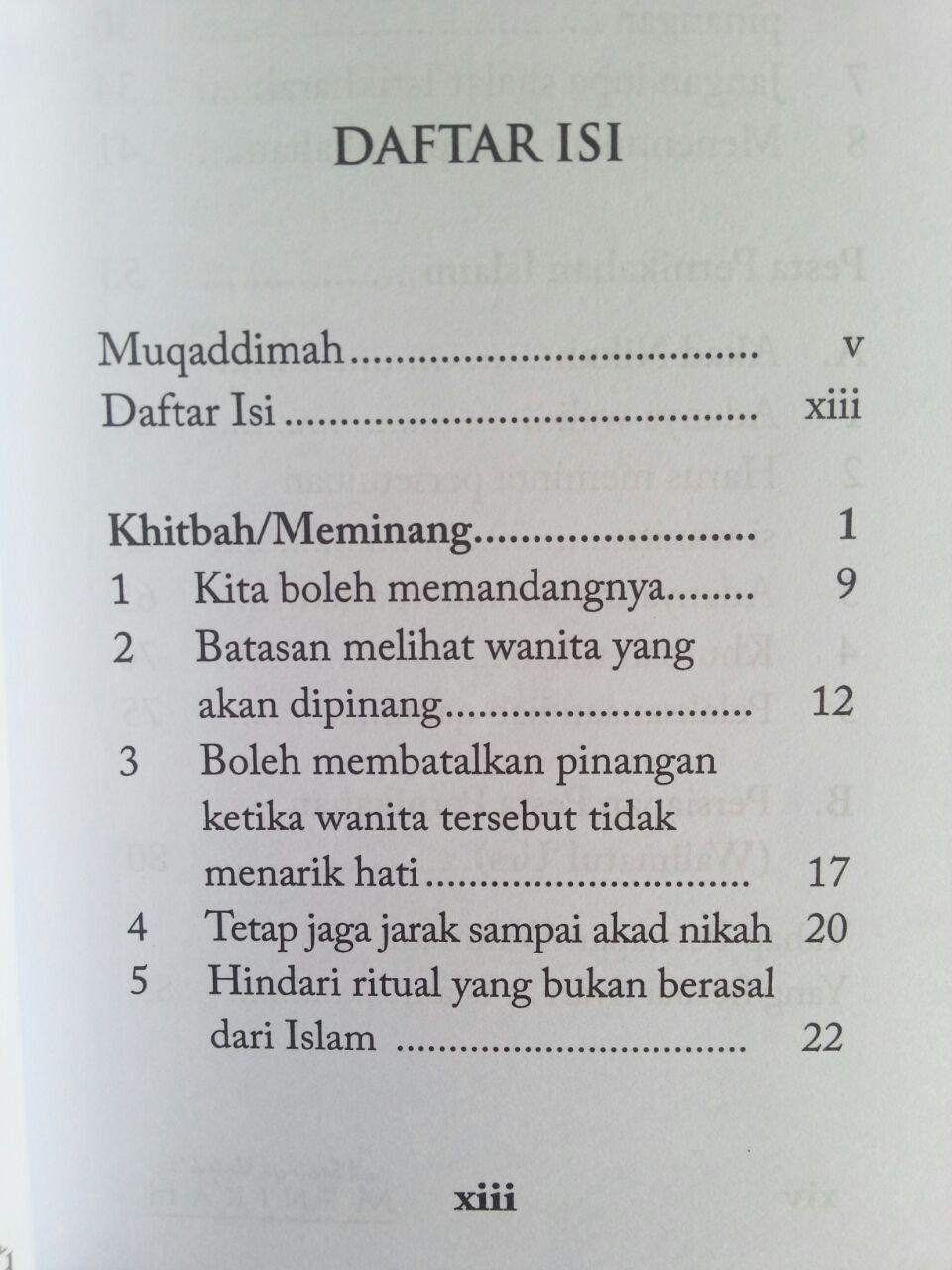 Buku Saku Saatnya Untuk Menikah isi 2