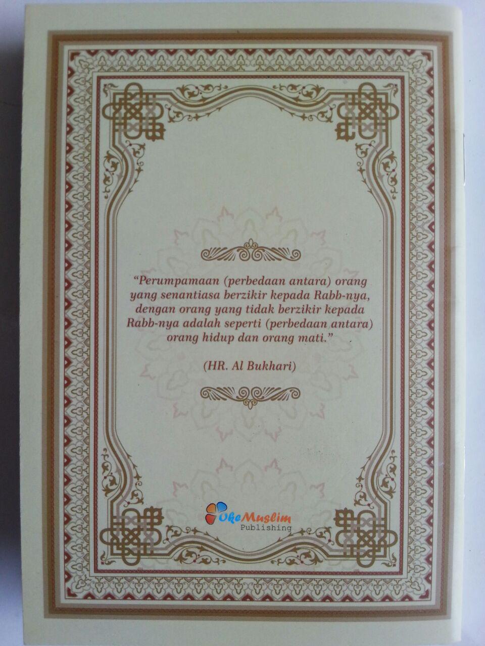 Buku Saku Zikir Pagi Petang Zikir Sesudah Shalat Fardhu Zikir Tidur cover