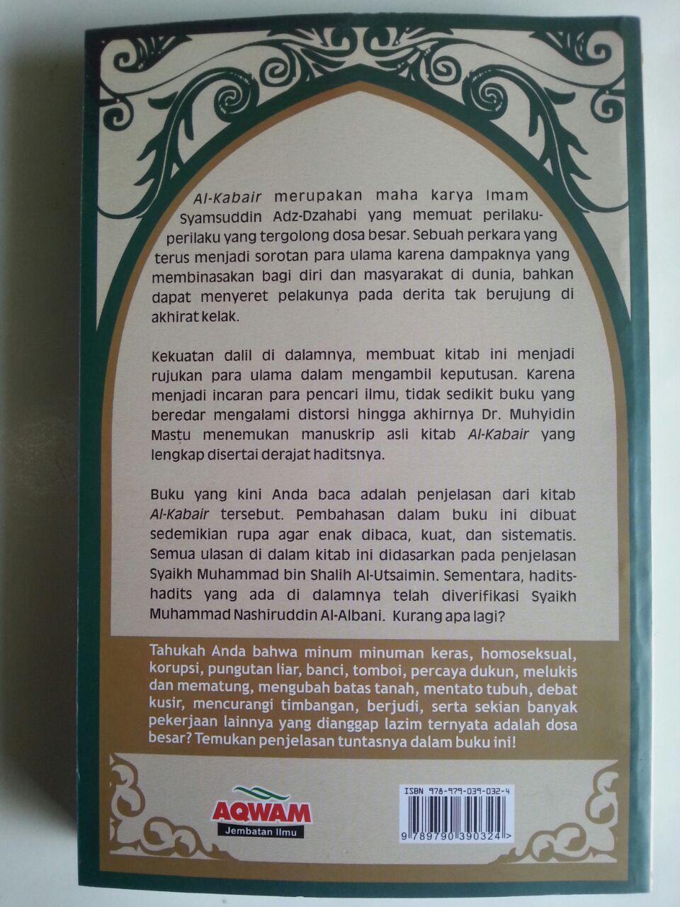Buku Syarah Al-Kabair Kupas Tuntas Dosa Besar cover