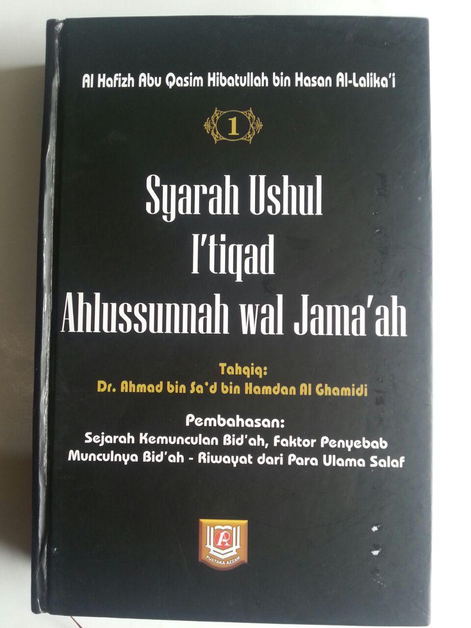 Buku Syarah Ushul I'tiqad Ahlussunnah Wal Jama'ah Set 8 Jilid 1 cover 2