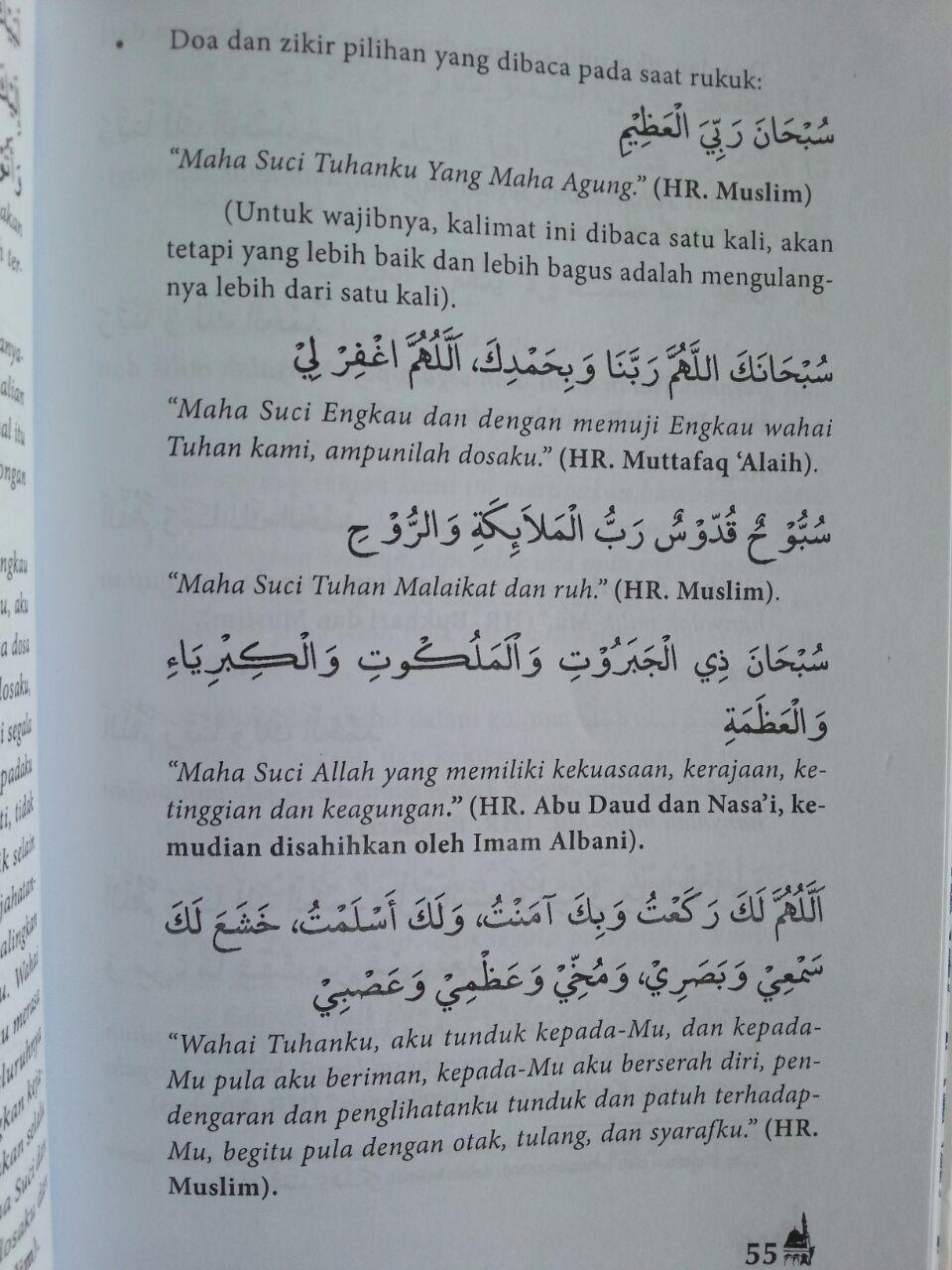 Buku Tata Cara Shalat Praktis Rahasia Sukses Dalam Shalat isi 3