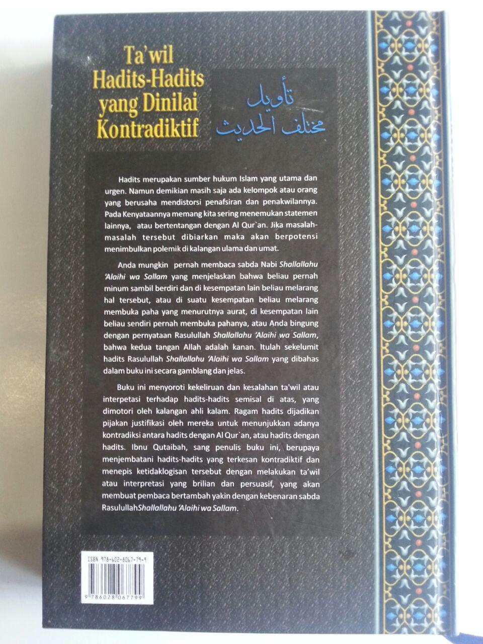 Buku Ta'wil Hadits-Hadits Yang Dinilai Kontrakdiktif cover 2