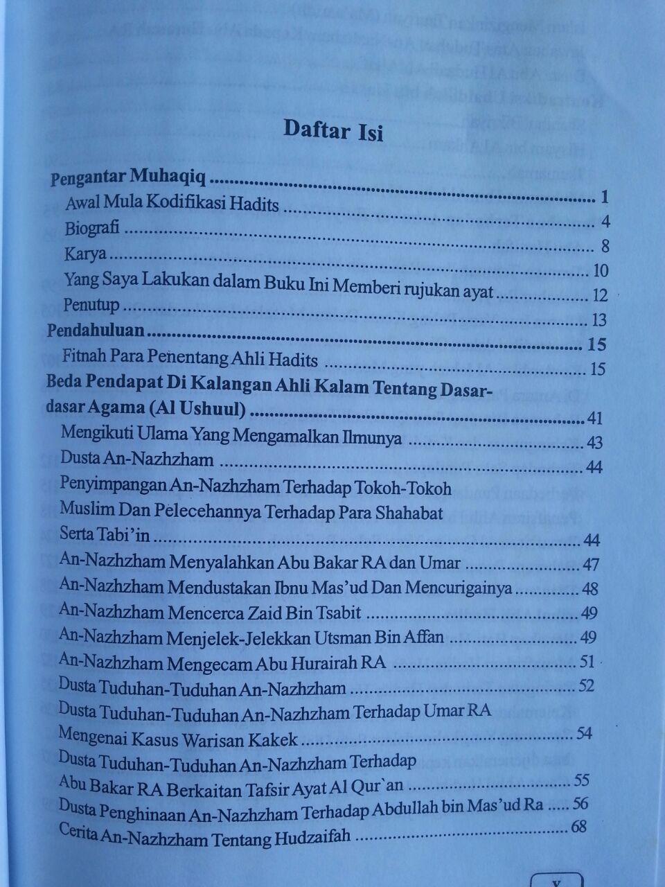 Buku Ta'wil Hadits-Hadits Yang Dinilai Kontrakdiktif isi 2