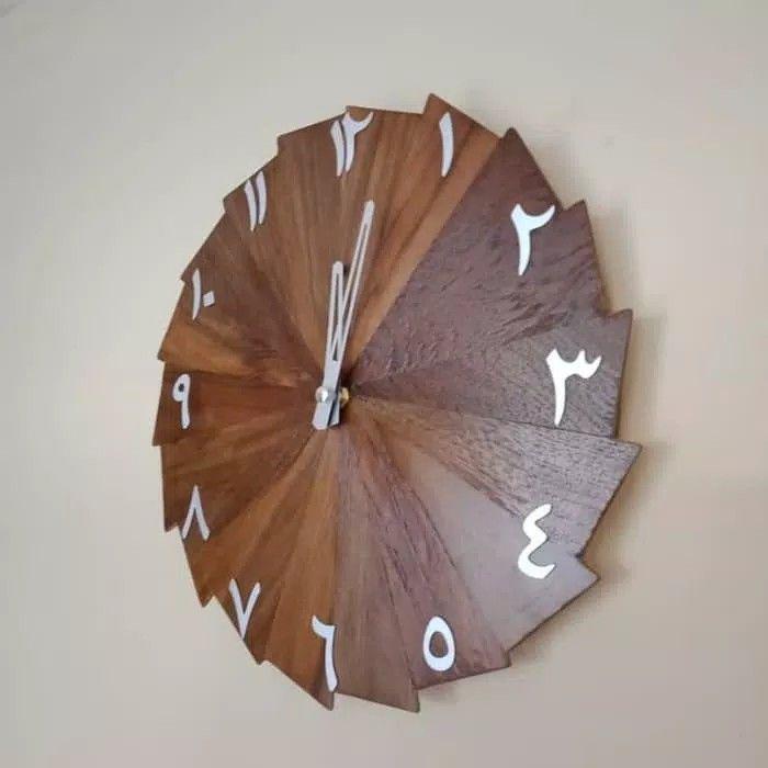 Jam Dinding Unik Model Kincir Angin Dengan Angka Arab 3