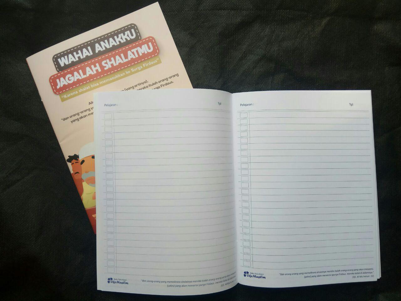 Paket Buku Tulis Islami Anak Pack 10 Buku 5 Cover Tema Rukun Iman Islam isi 5