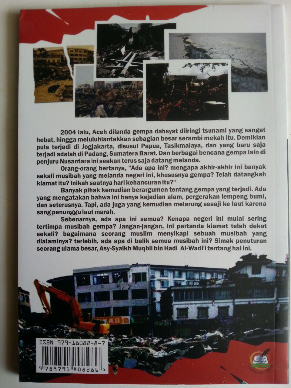 Buku Ada Apa Dengan Gempa Bumi Sebuah Nasehat Peringatan cover