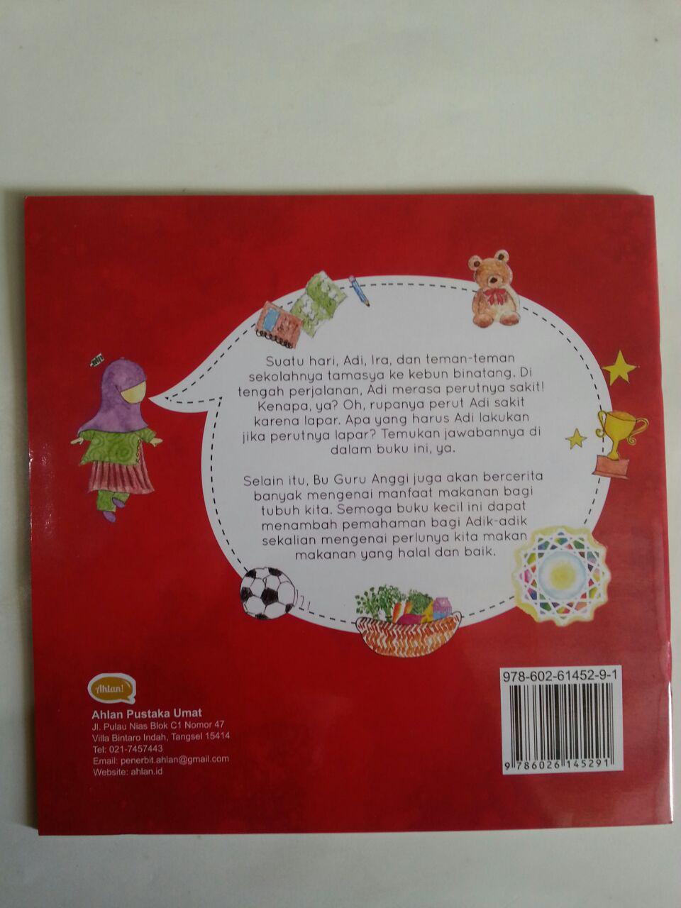 Buku Anak Shalih Menjaga Kesehatan Kenapa Kita Perlu Makan cover