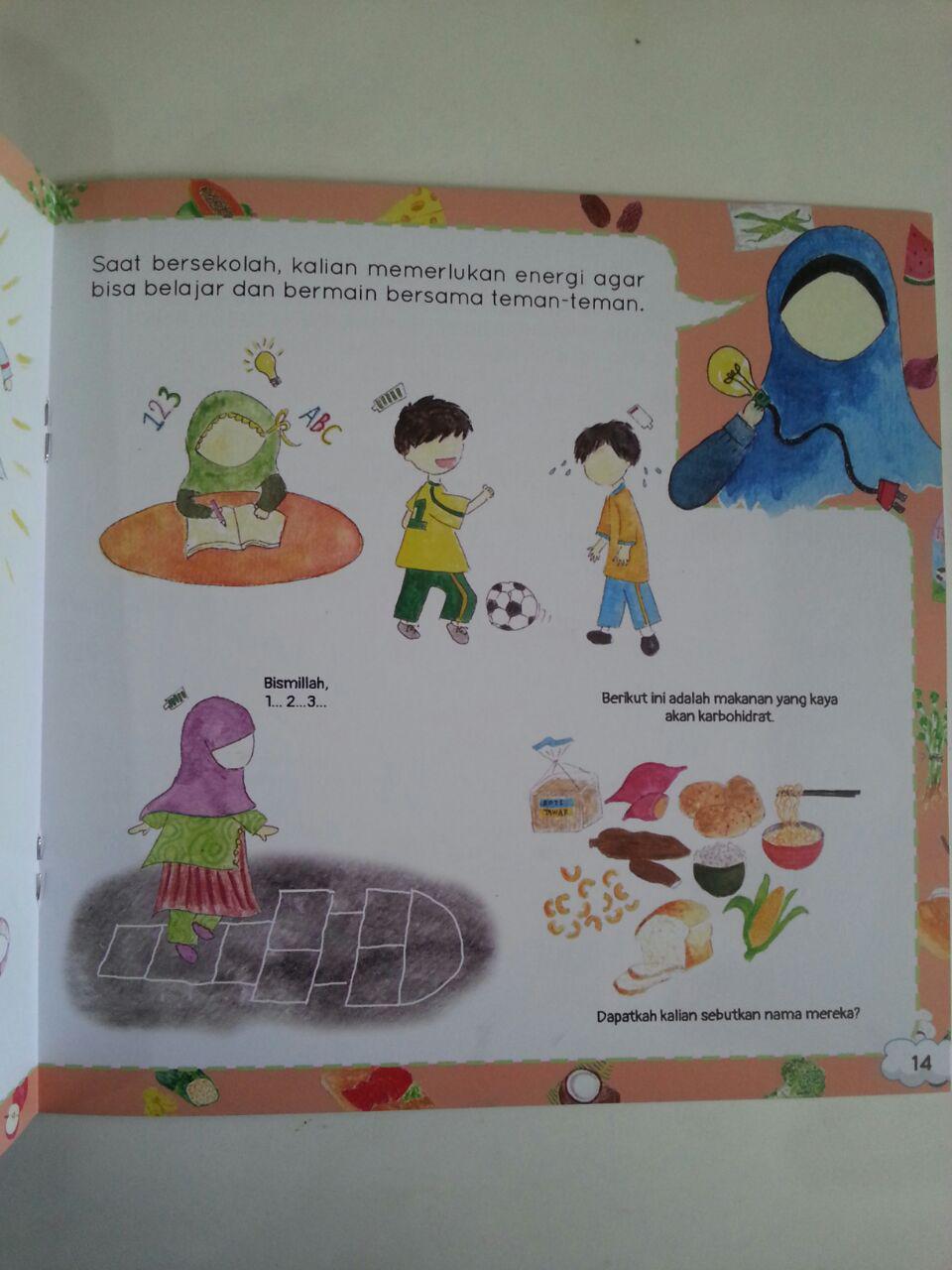 Buku Anak Shalih Menjaga Kesehatan Kenapa Kita Perlu Makan isi