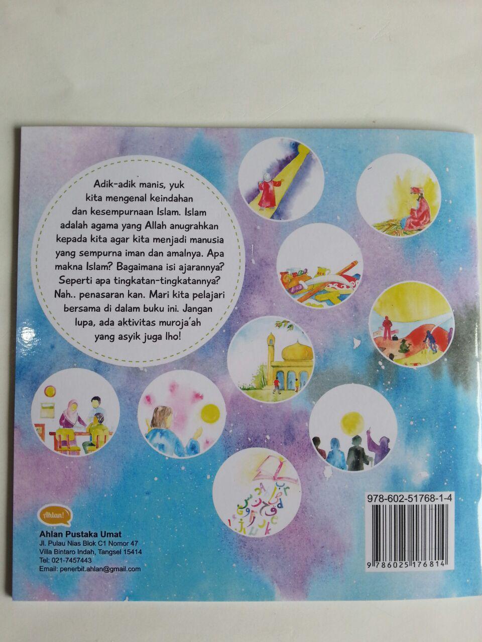 Buku Anak Ushul Tsalatsah For Kids Mengenal Islam cover