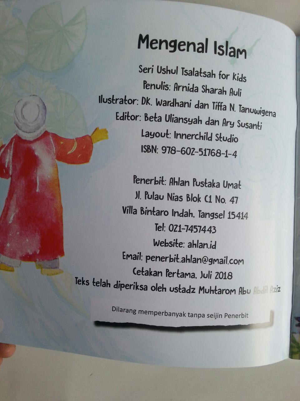 Buku Anak Ushul Tsalatsah For Kids Mengenal Islam isi 2