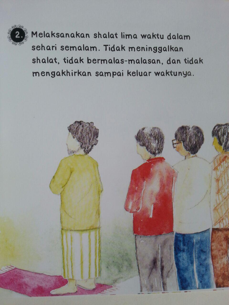 Buku Anak Ushul Tsalatsah For Kids Mengenal Islam isi 3