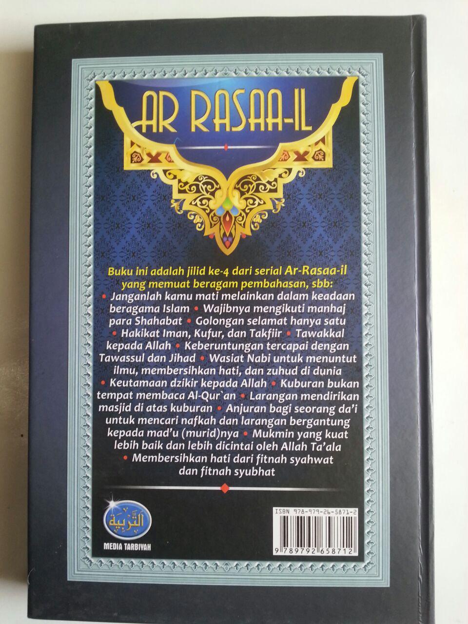 Buku Ar Rasaa-il Kumpulan Risalah Aqidah Fiqih Dan Hukum cover 2