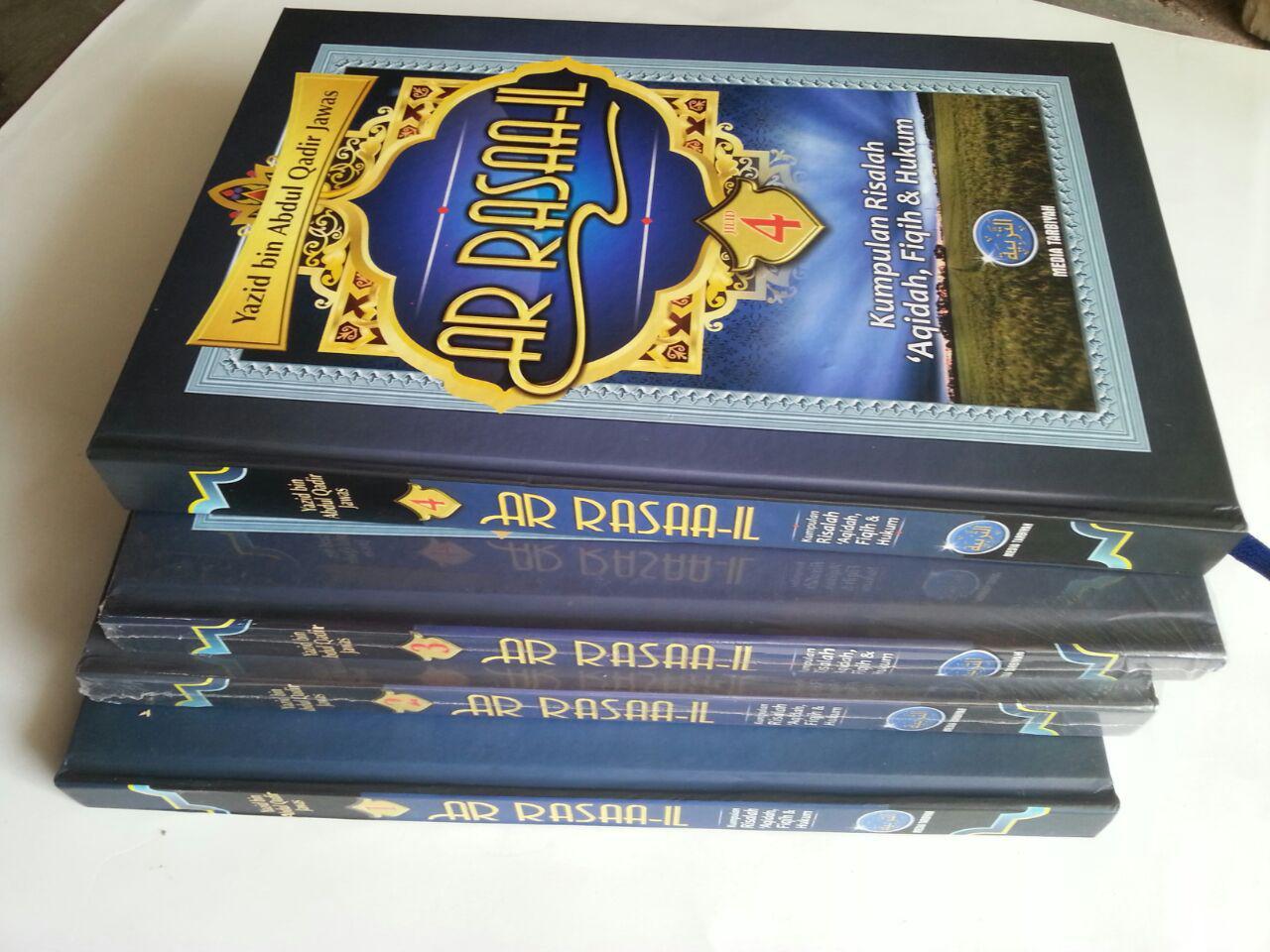 Buku Ar Rasaa-il Kumpulan Risalah Aqidah Fiqih Dan Hukum cover 4