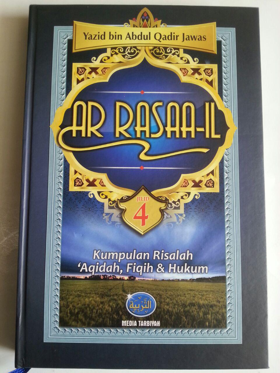 Buku Ar Rasaa-il Kumpulan Risalah Aqidah Fiqih Dan Hukum cover