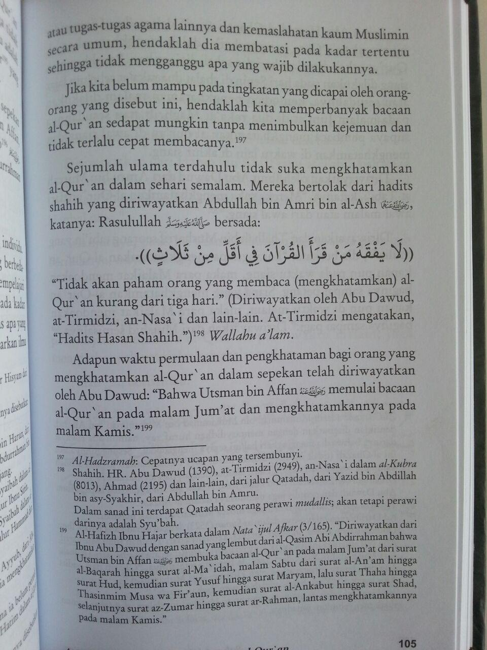 Buku At-Tibyan Adab Berinteraksi Dengan Al-Qur'an isi 3