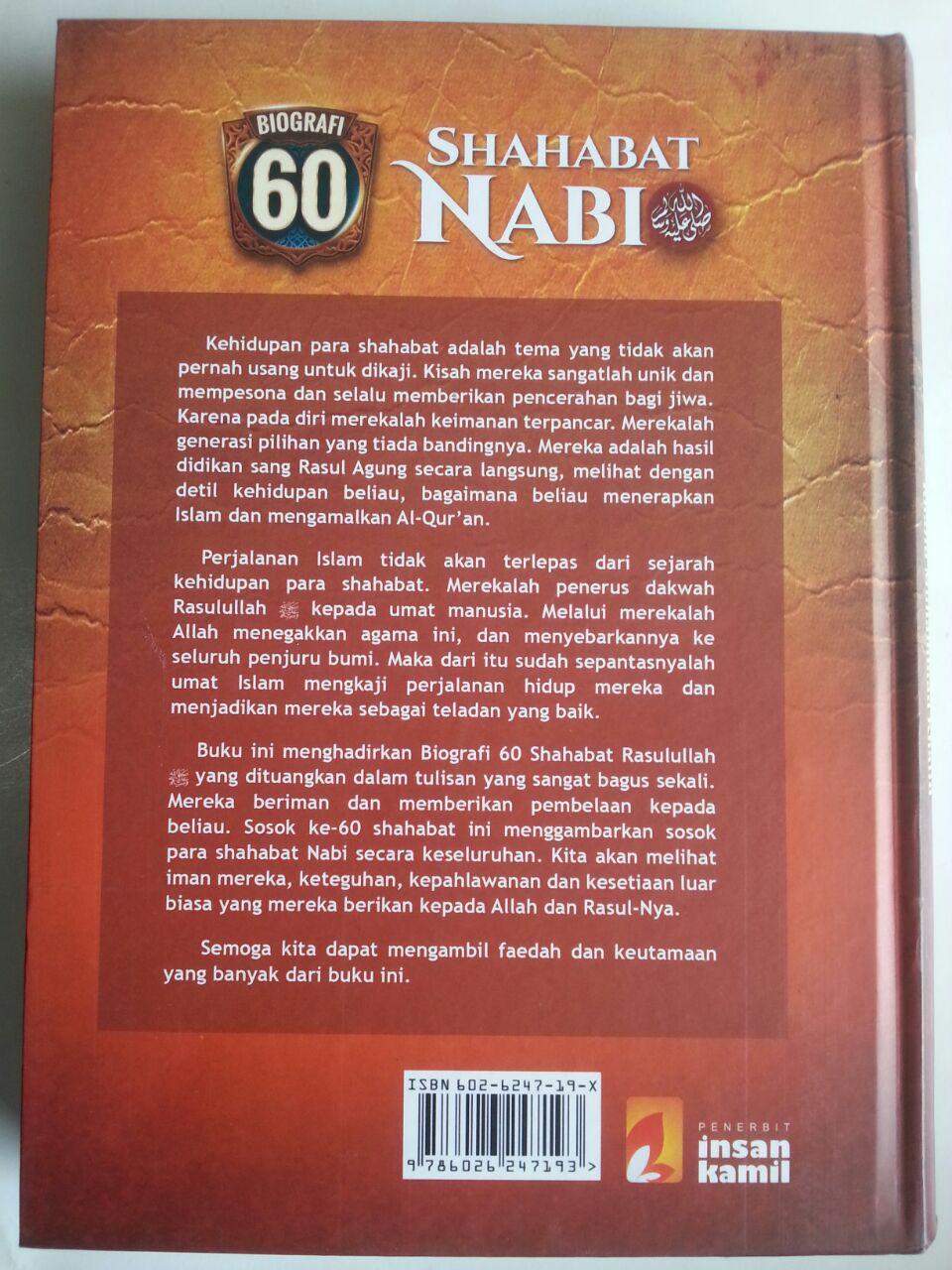Buku Biografi 60 Shahabat Nabi cover