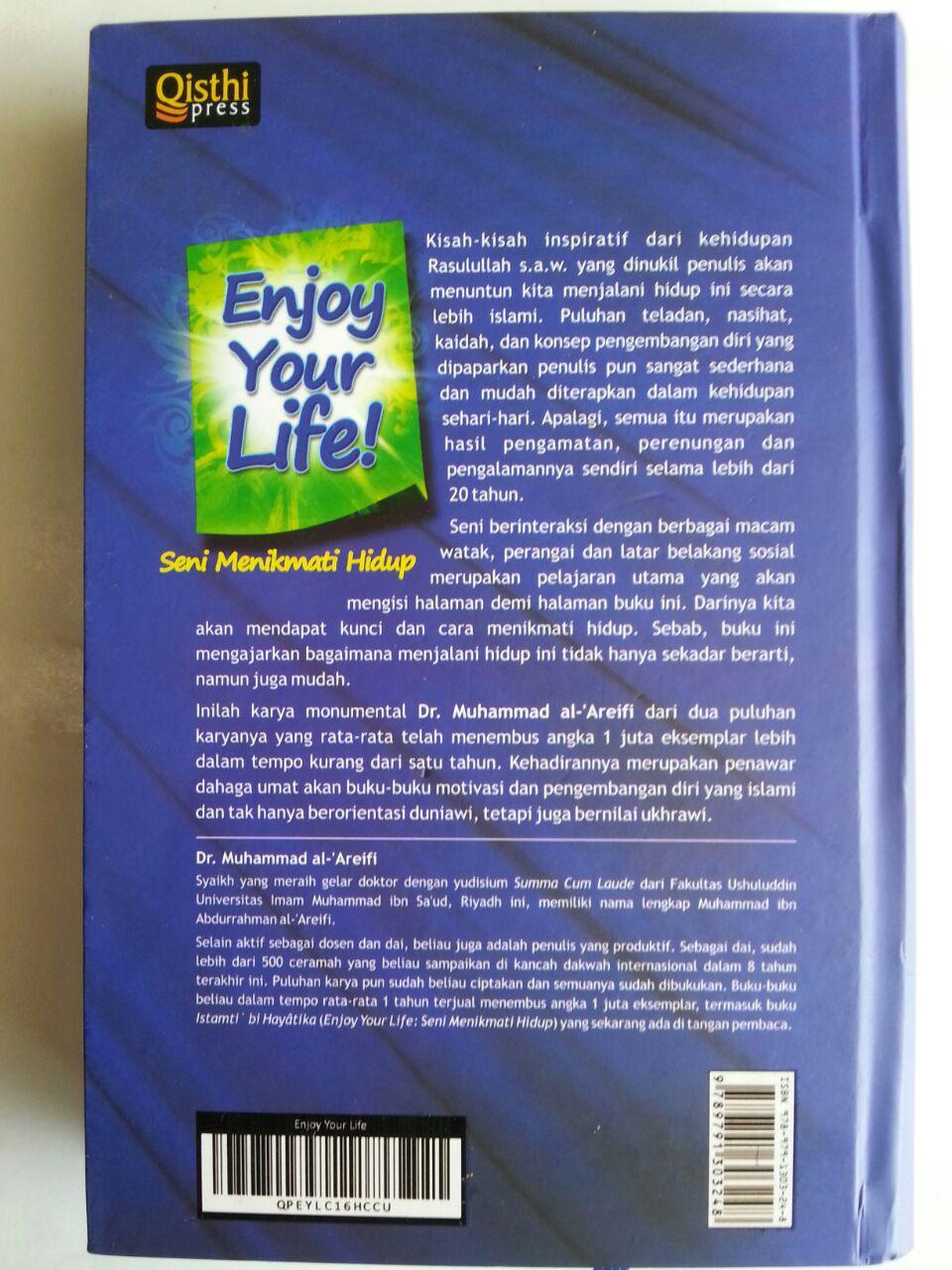 Buku Enjoy Your Life Seni Menikmati Hidup cover