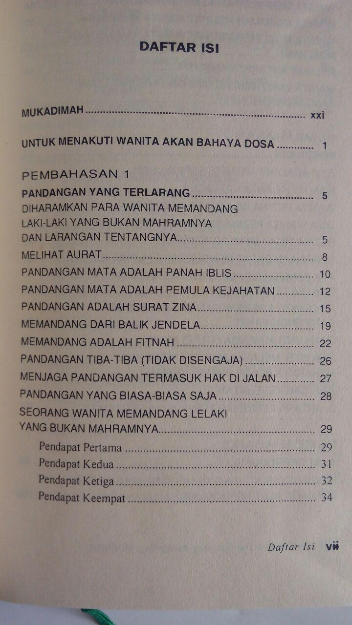 Buku Ensiklopedi Hal-Hal Yang Haram Bagi Muslimah isi 2