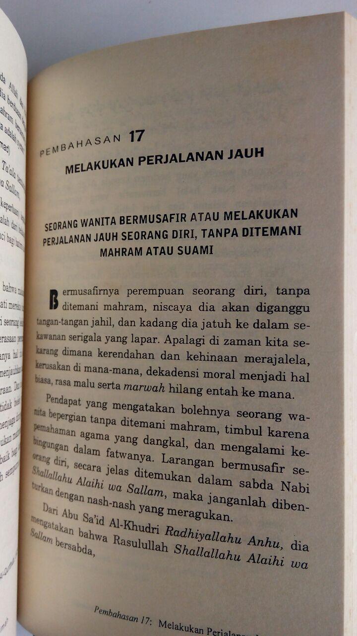 Buku Ensiklopedi Hal-Hal Yang Haram Bagi Muslimah isi