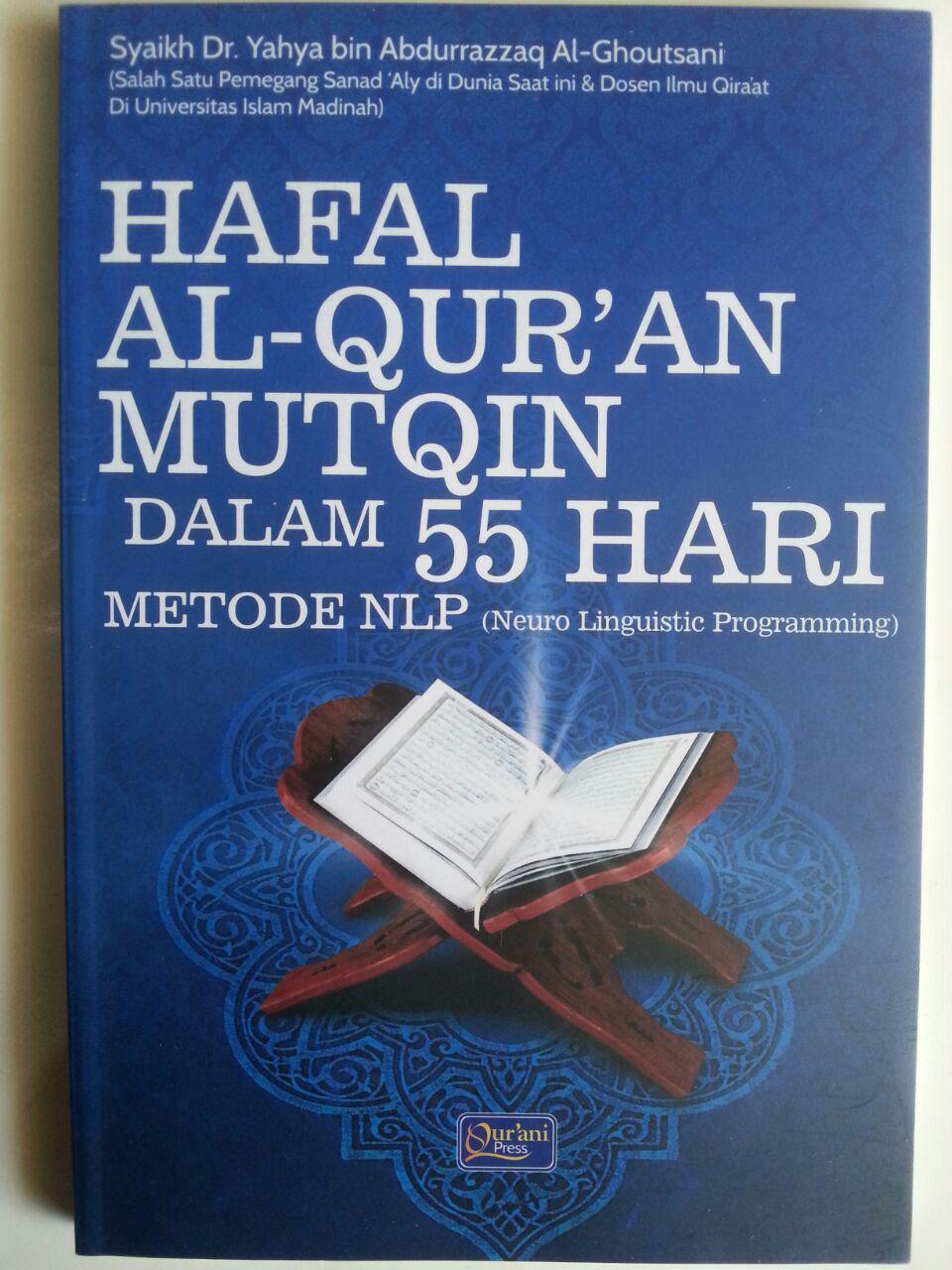 Buku Hafal Al-Qur'an Mutqin Dalam 55 Hari Metode LNP cover 2