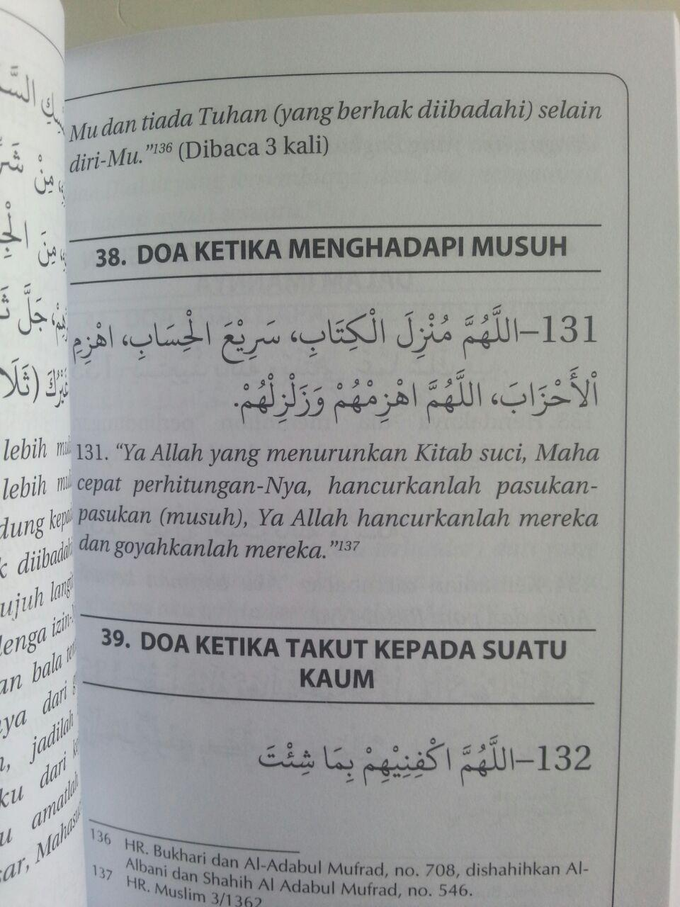 Buku Hishnul Muslim Doa Dan Zikir Sehari-Hari Dari Quran Sunnah isi 3