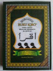 Buku Iqro Cara Cepat Belajar Membaca Al-Quran 2 Warna Lux Hard Cover cover 2