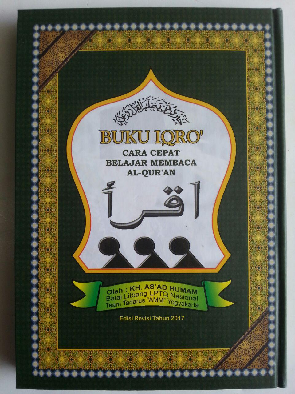 Buku Iqro Cara Cepat Belajar Membaca Al-Quran 2 Warna Lux Hard Cover cover 2 ...
