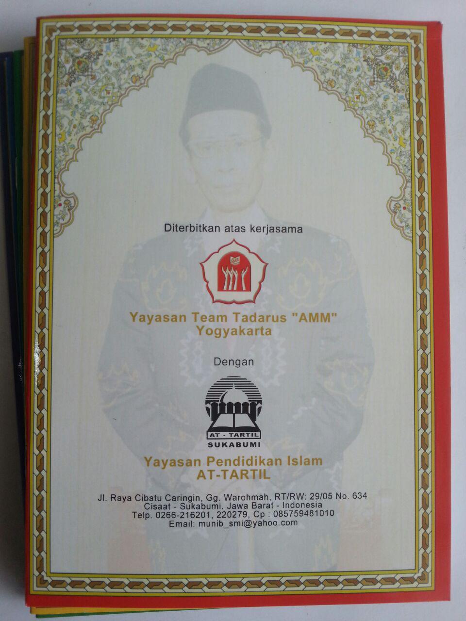 Buku Iqro Cara Cepat Belajar Membaca Qur'an Rasmul Utsmani A5 Set cover 3