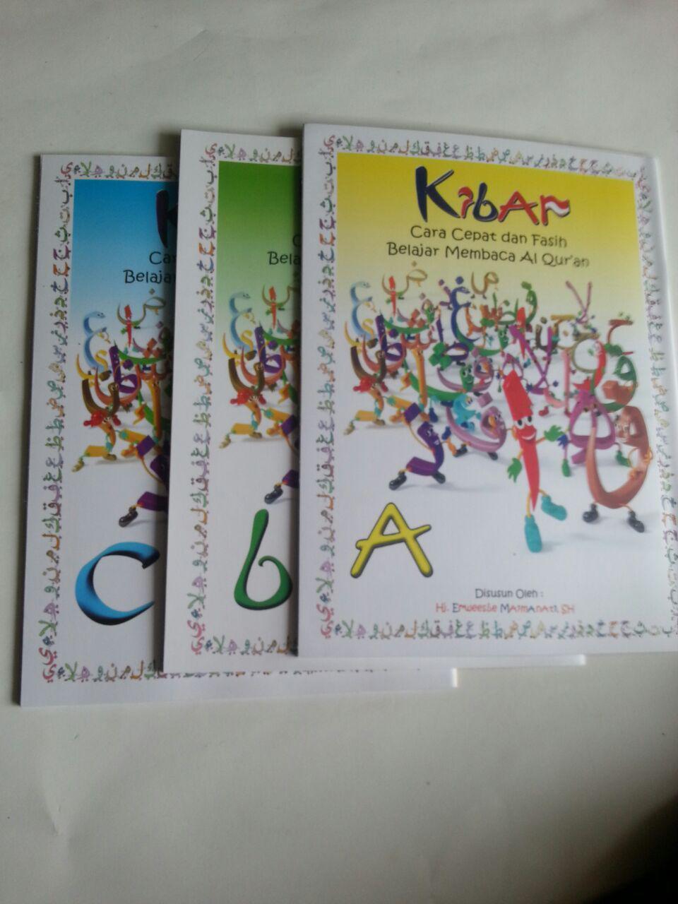Buku Kibar Cara Cepat Dan Fasih Belajar Membaca Al-Qur'an Full Colour B5 cover 2