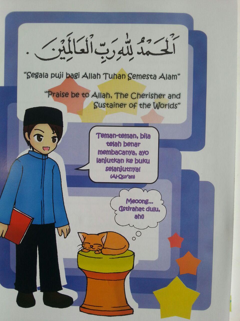 Buku Kibar Cara Cepat Dan Fasih Belajar Membaca Al-Qur'an Full Colour B5 isi 2