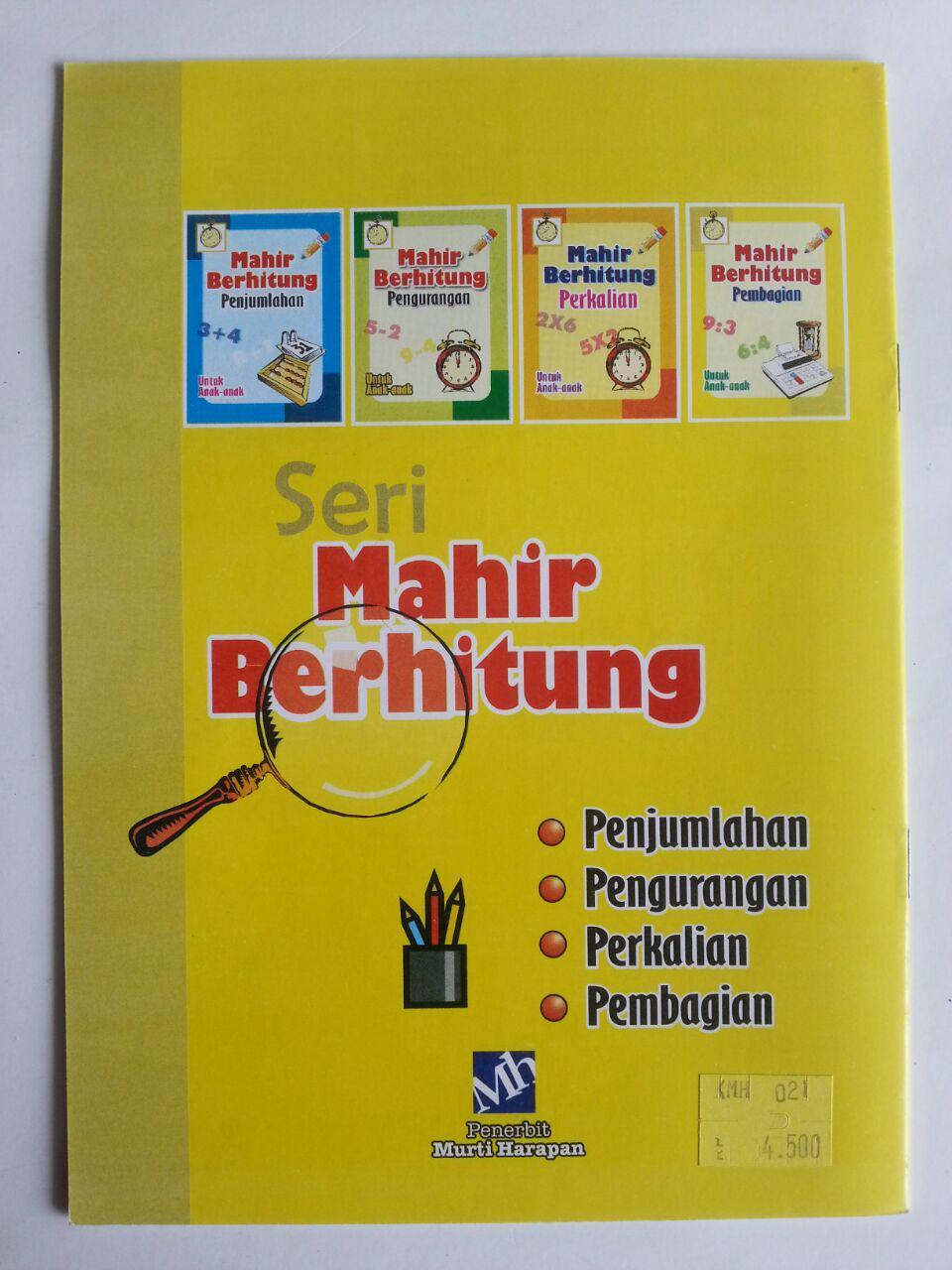 Buku Mahir Berhitung Pembagian Untuk Anak-Anak cover