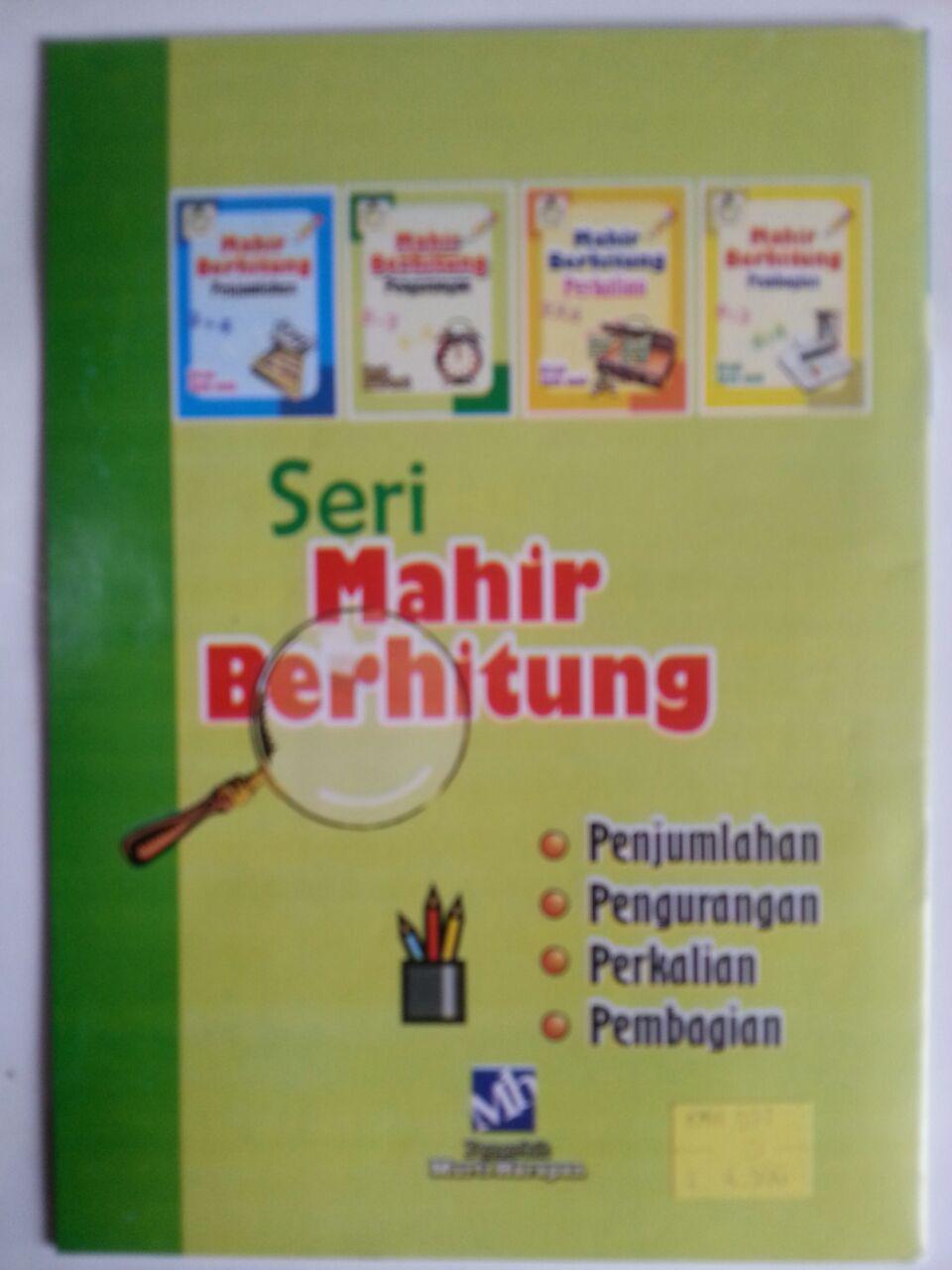 Buku Mahir Berhitung Pengurangan Untuk Anak-Anak cover
