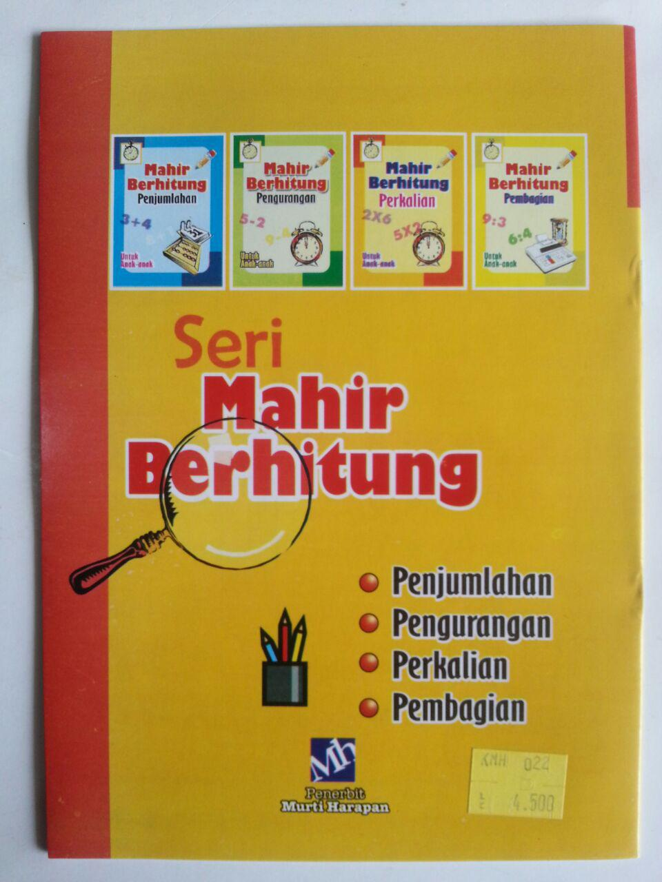 Buku Mahir Berhitung Perkalian Untuk Anak-Anak cover 2