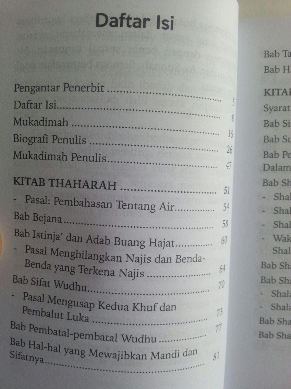 Buku Manhajus Salikin Himpunan Masalah Fikih Dan Dalilnya Untuk Pemula isi 2