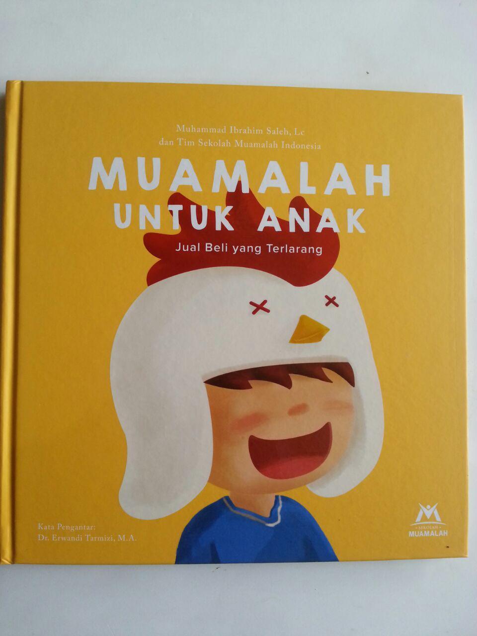 Buku Muamalah Untuk Anak Jual Beli Yang Terlarang cover 2