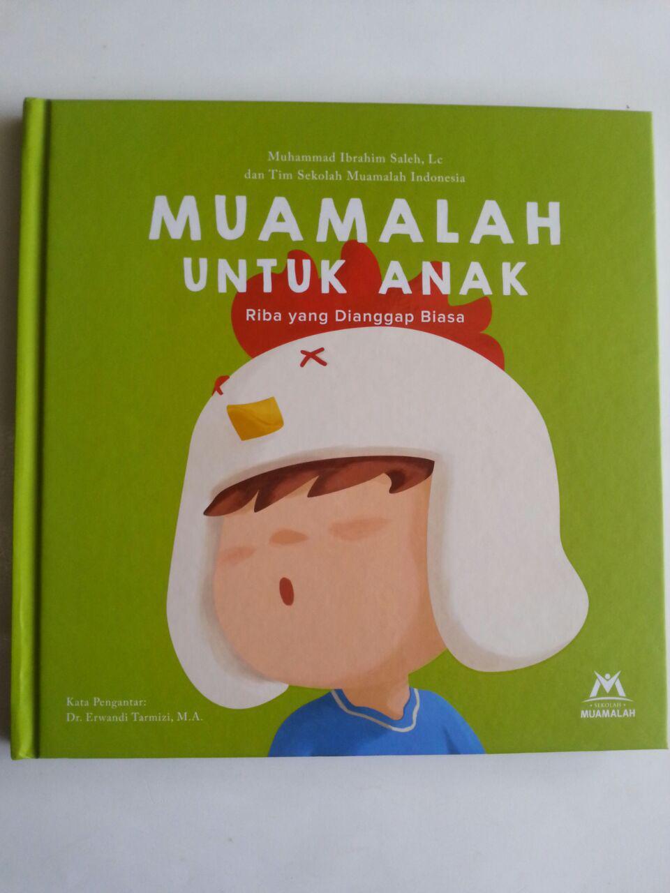 Buku Muamalah Untuk Anak Riba Yang Dianggap Biasa cover 2