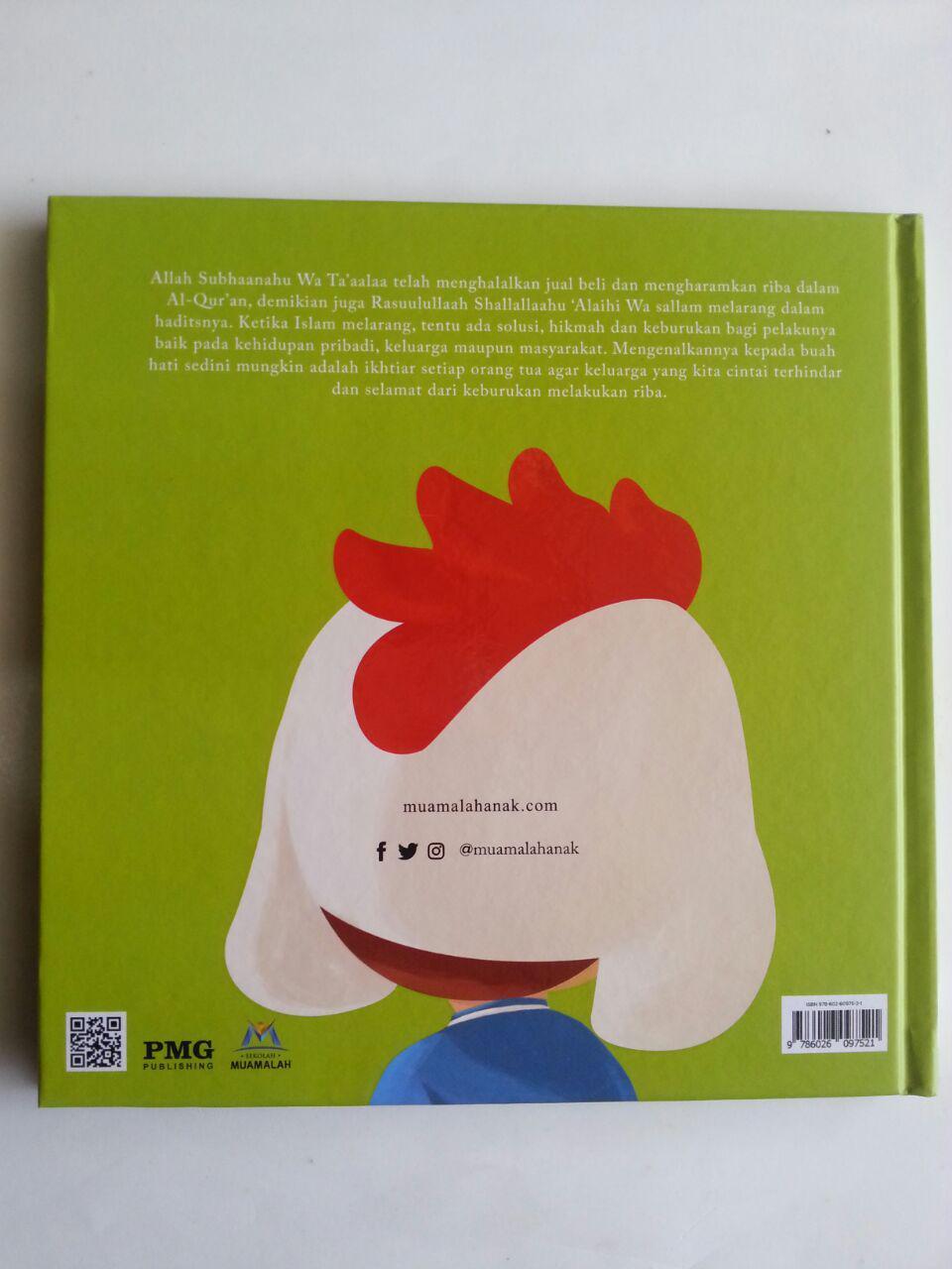 Buku Muamalah Untuk Anak Riba Yang Dianggap Biasa cover