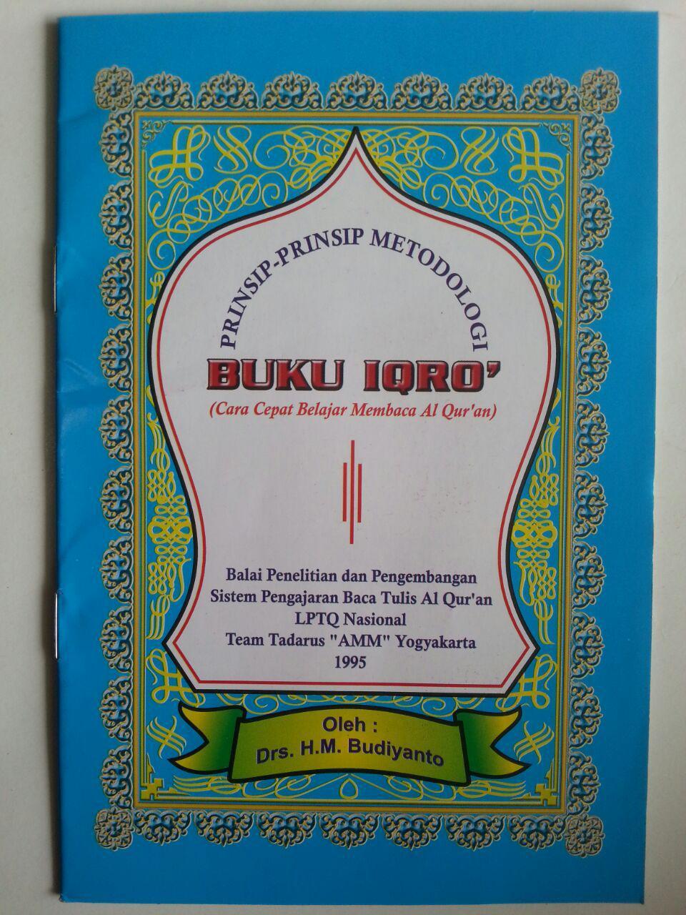 Buku Prinsip-Prinsip Metodologi Buku Iqro Cara Cepat Belajar Membaca Al-Quran cover