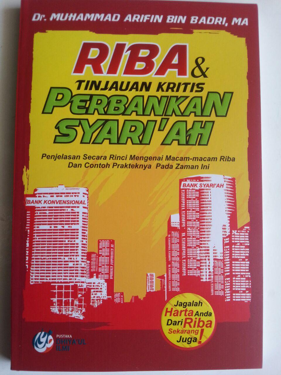 Buku Riba Dan Tinjauan Kritis Perbankan Syariah Penjelasan Riba cover 2