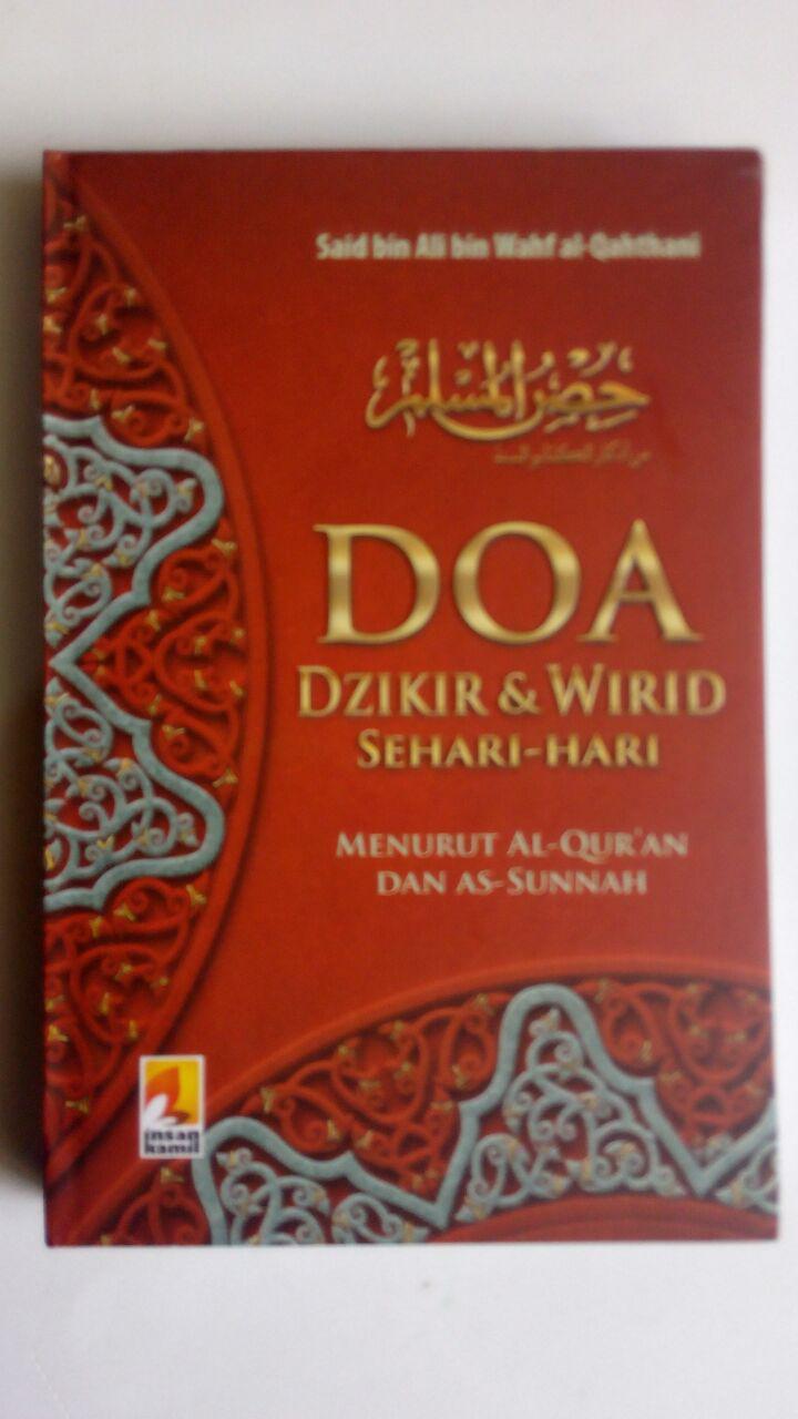Buku Saku Doa Dzikir dan Wirid Sehari-Hari Hard Cover isi