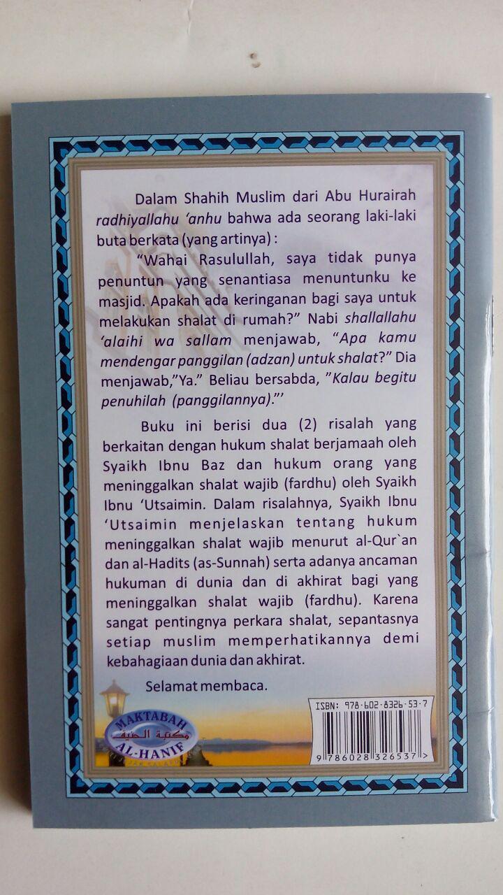 Buku Saku Shalat Jamaah Dan Meninggalkan Shalat cover 2