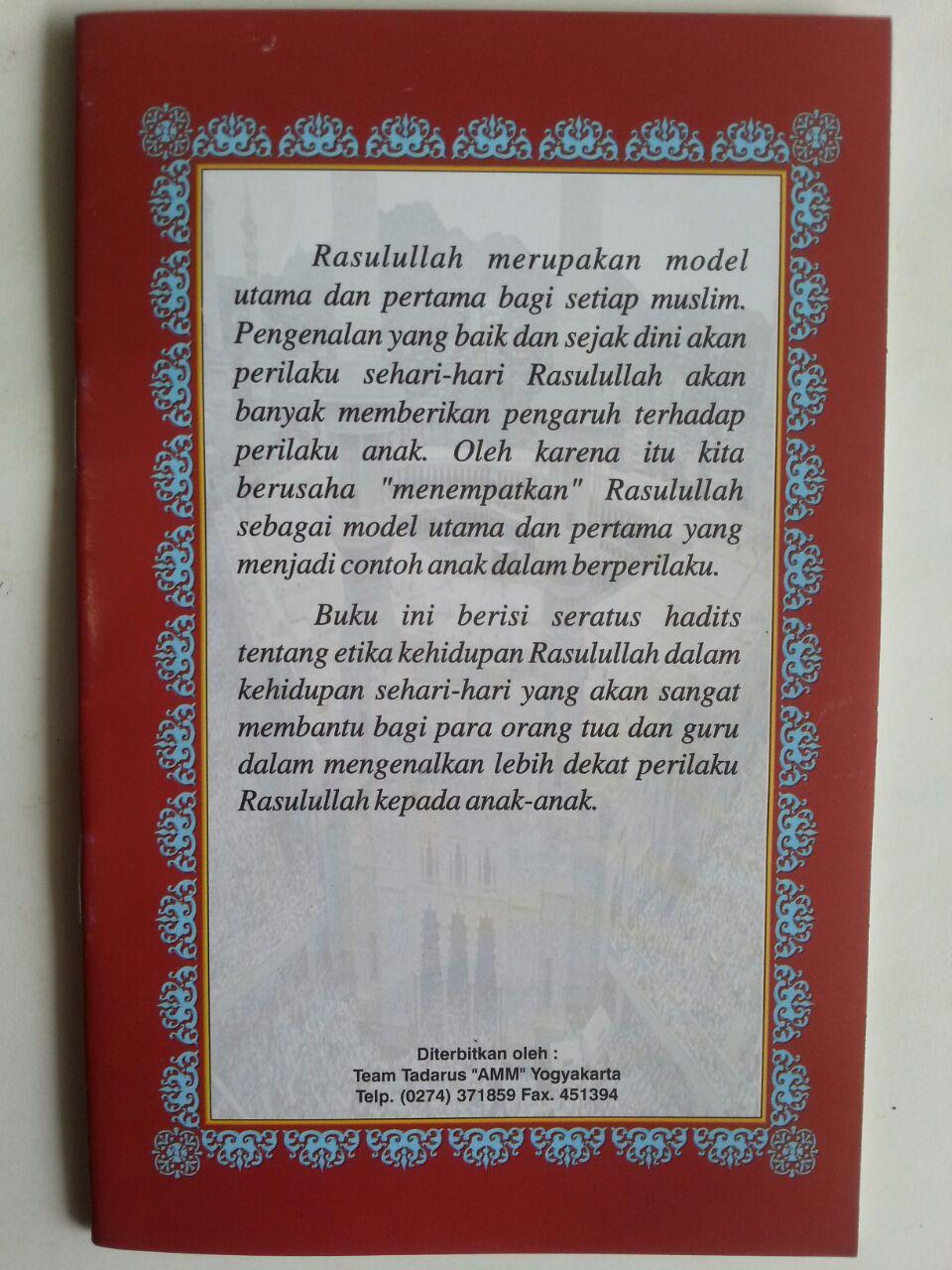 Buku Seratus Hadits Terjamah Lafdziyah Pegangan Santri Pasca TKATPA cover