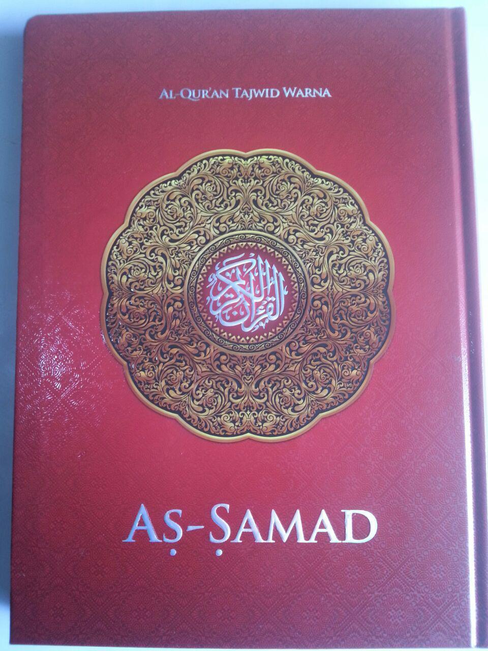 Al-Qur'an Tajwid Warna Tanpa Terjemah As-Samad A4 cover
