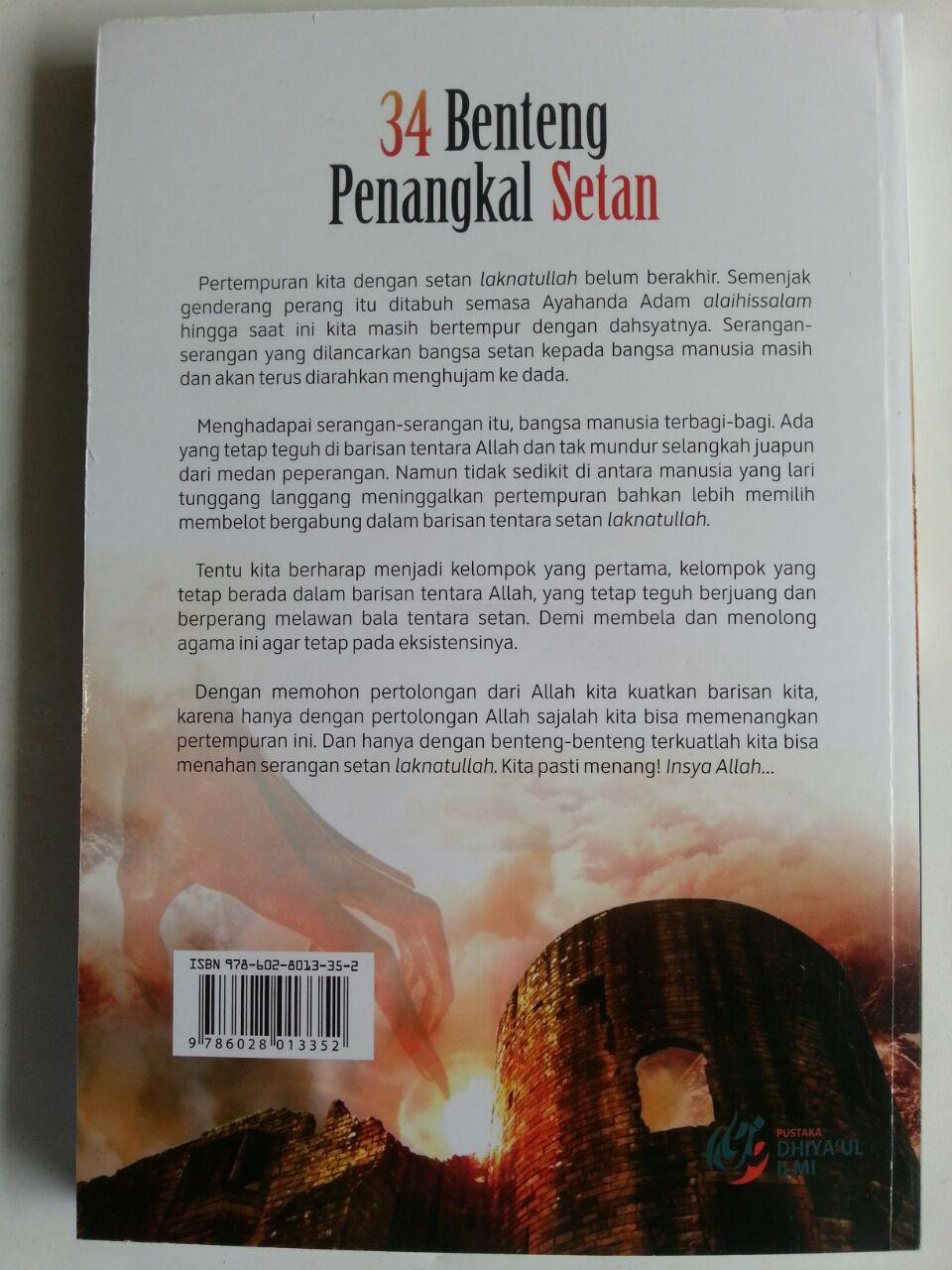 Buku 34 Benteng Penangkal Setan cover