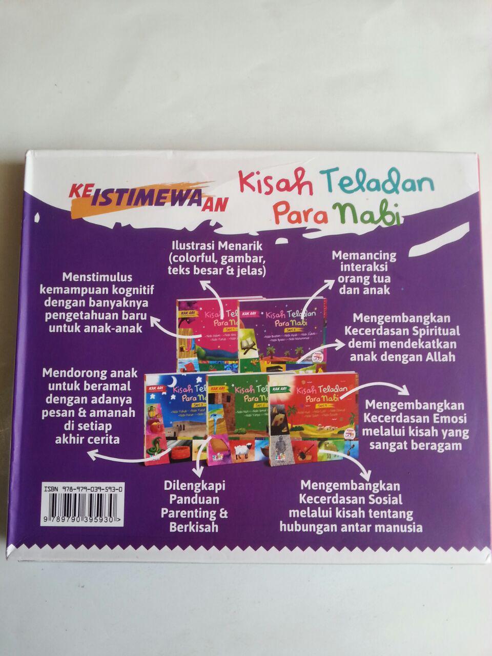 Buku Anak Kisah Teladan Para Nabi 1 Set 5 Jilid cover 3