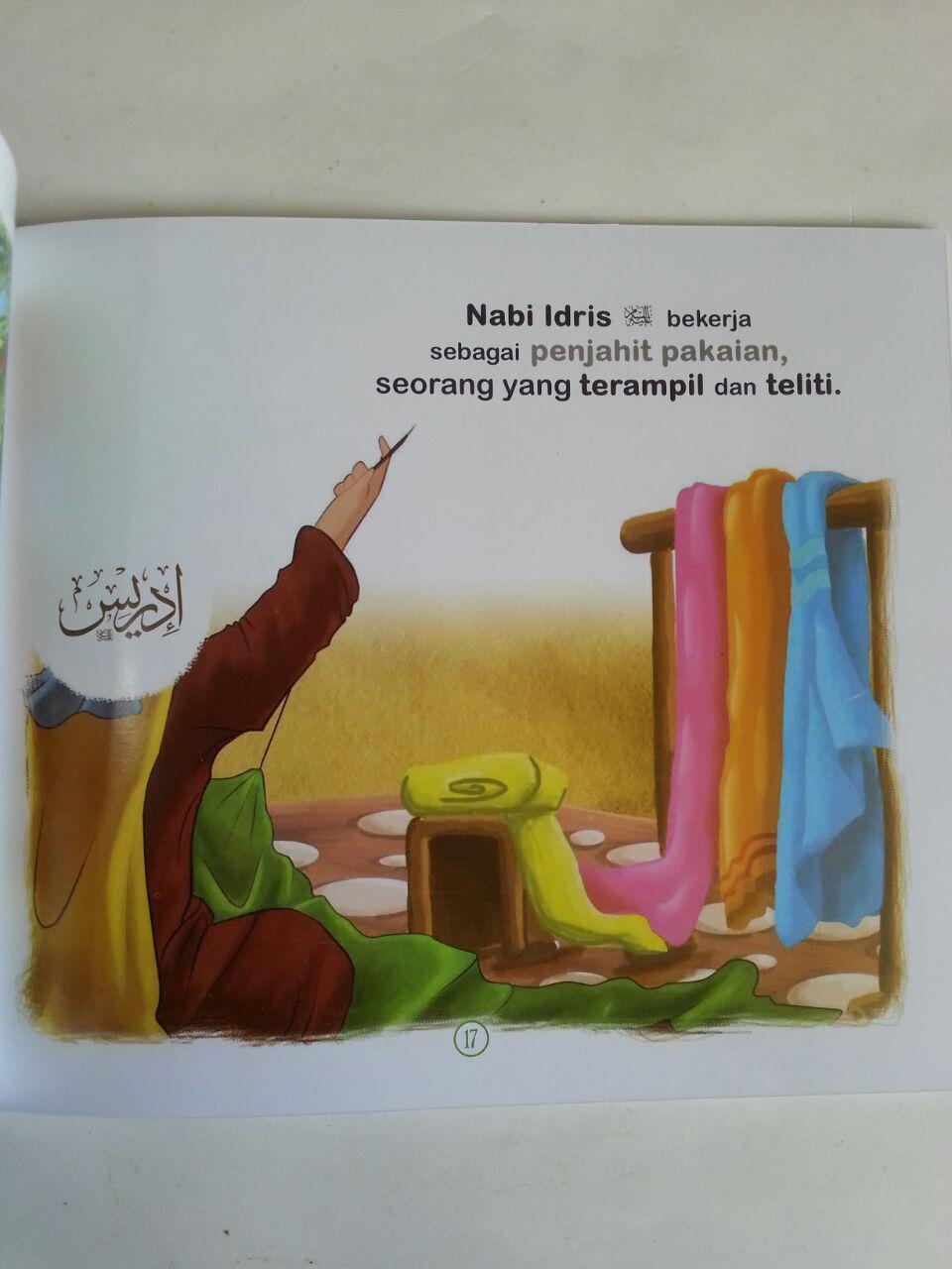 Buku Anak Kisah Teladan Para Nabi 1 Set 5 Jilid isi 3