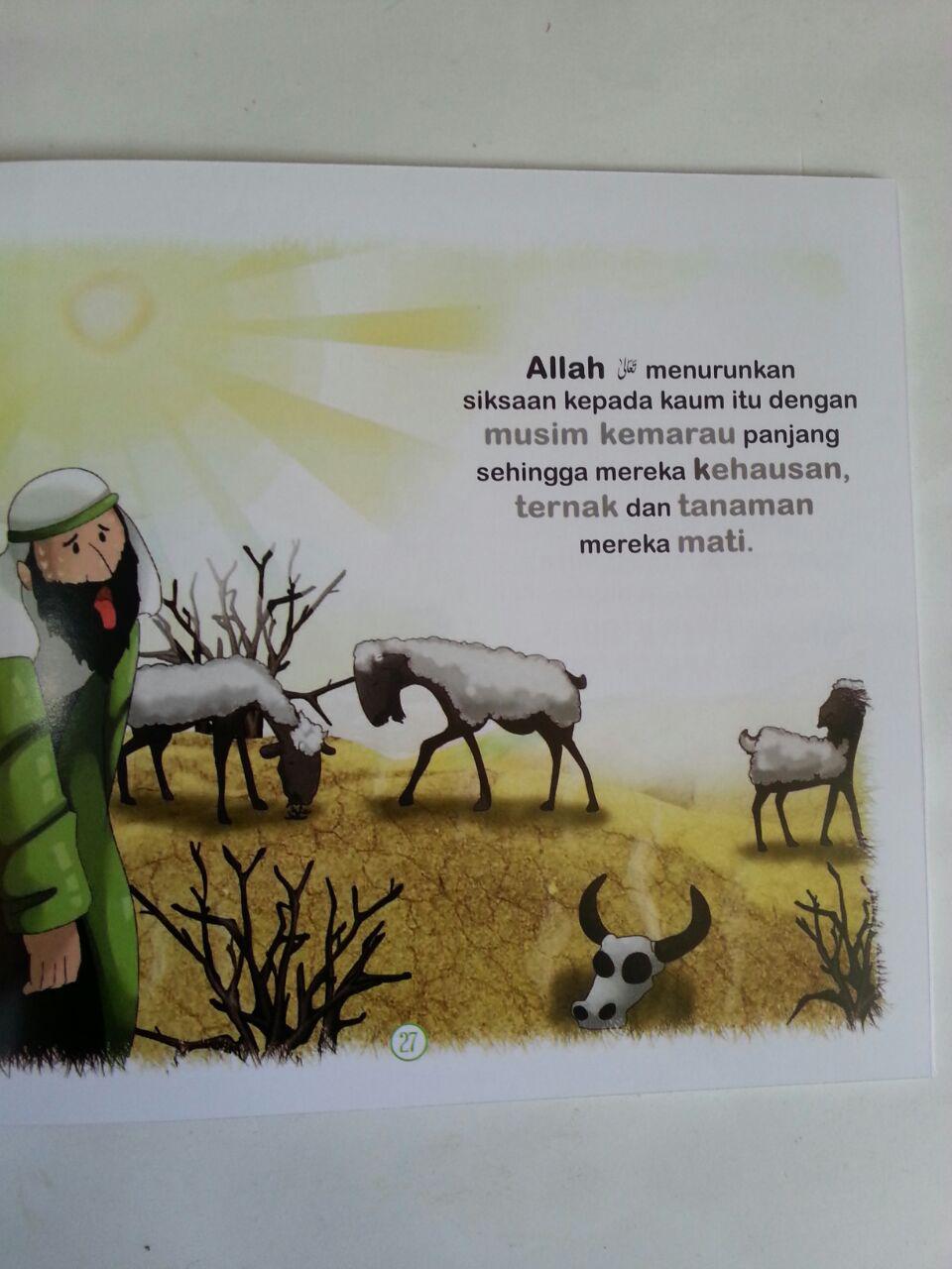 Buku Anak Kisah Teladan Para Nabi 1 Set 5 Jilid isi 4