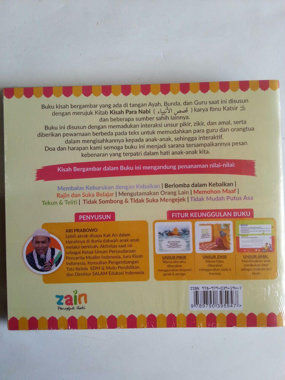 Buku Anak Kisah Teladan Para Nabi 1 Set 5 Jilid isi 5