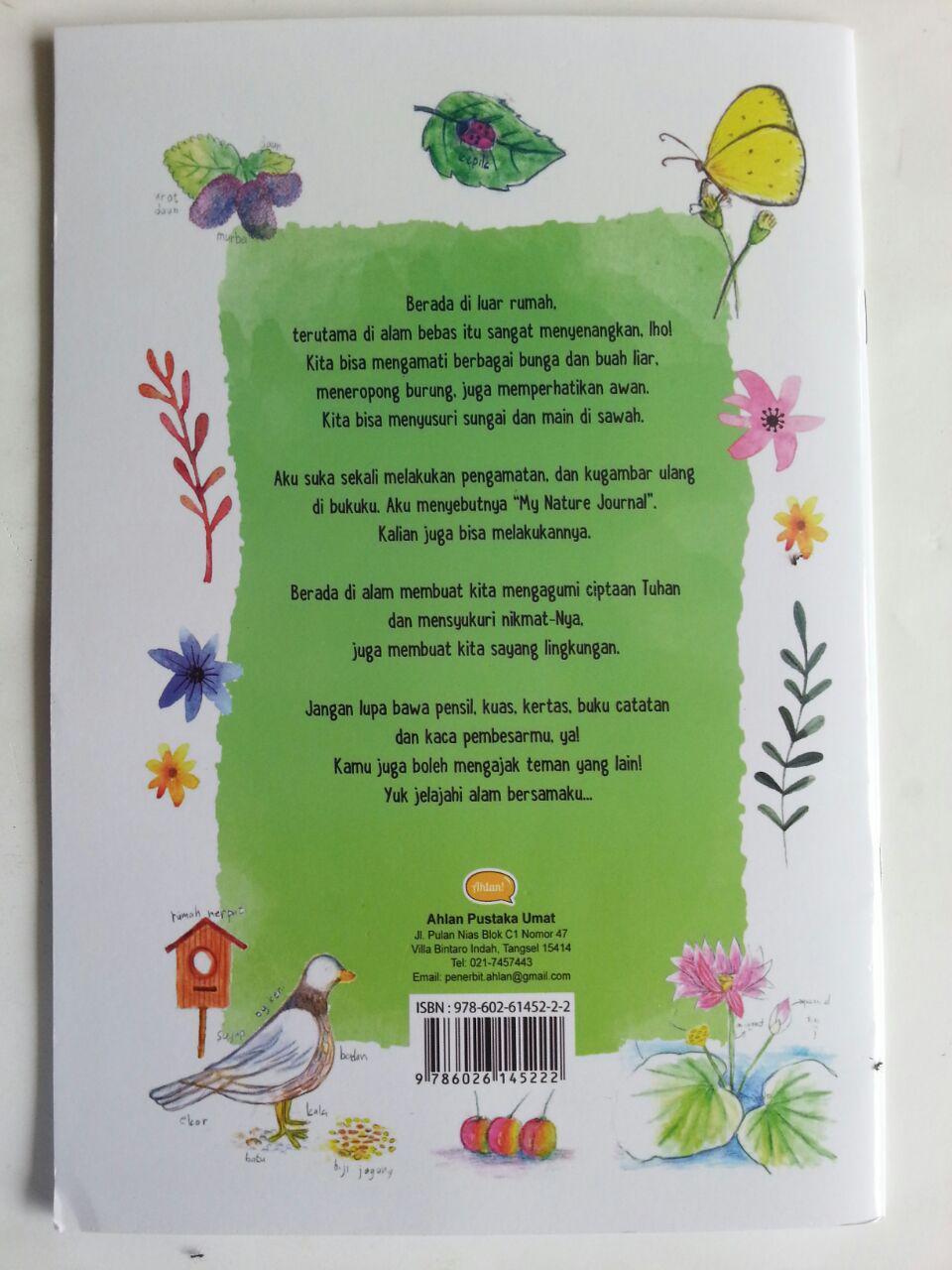 Buku Anak My Nature Journal Pengamatan Dan Gambar Ulang Di Bukuku cover