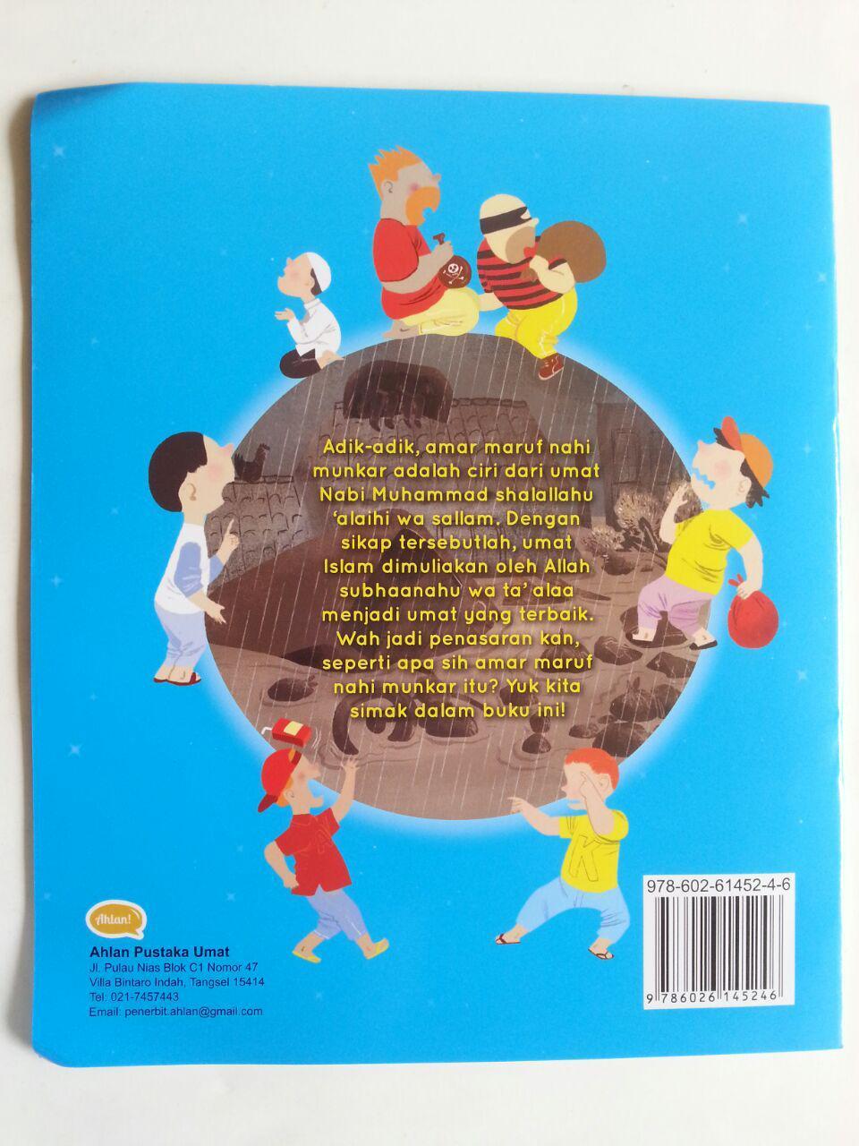 Buku Anak Seri Riyadhus Shalihin For Kids Amar Maruf Nahi Munkar cover